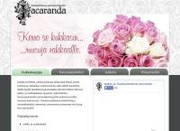 Nettisivu: Kukka ja Hautaustoimisto Jacaranda