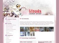 Nettisivu: Tiinuska Lahjatavaraliike