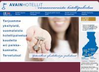 Nettisivu: Hotelli Hirvi