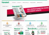 Nettisivu: Vesijohtoliike Mäkinen Erkki Oy