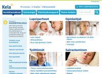Nettisivu: Kansaneläkelaitos Sotkamon toimisto