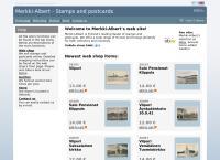 Nettisivu: Merkki-Albert