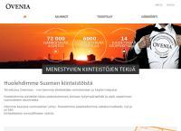 Nettisivu: Ovenia Oy