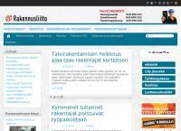 Nettisivu: Rakennusliitto Ry
