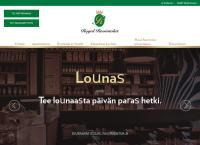 Nettisivu: Restaurant Pörssi