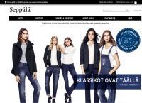 Nettisivu: Seppälä Myymälä