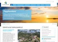 Nettisivu: Taipalsaaren kunta Taipalsaaren vanhainkoti