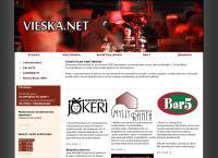 Nettisivu: Ravintola Vieska