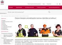 Nettisivu: Pohjois-Karjalan Ammattiopisto