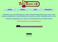 Nettisivu: Tekoteam Oy
