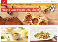 Nettisivu: Liha-Saarioinen Oy Jyväskylän Lihanjalostuslaitos