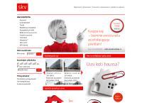 Nettisivu: Skv Kiinteistönvälitys Oy
