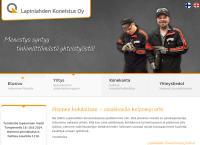 Nettisivu: Lapinlahden Koneistus Oy