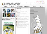Nettisivu: Dunlop Hiflex Oy