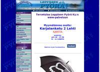 Nettisivu: Leppäsen Pyörä Ky