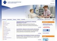 Nettisivu: Lapin Keskussairaala