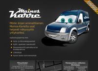 Nettisivu: Mainos Karre Ky