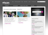 Nettisivu: Oticon Oy Ab