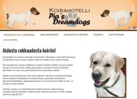 Nettisivu: Pias Dreamdogs