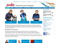 Nettisivu: Pohjoisen Keski-Suomen Oppimiskeskus, oppisopimustoimisto