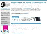 Nettisivu: Rengaskontti