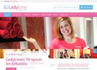 Nettisivu: Lady Line Loimaa