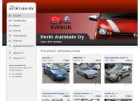 Nettisivu: Porin Autotalo Huolto