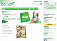 Nettisivu: POP Pankki Pohjanmaan Osuuspankki Kortesjärven konttori