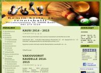 Nettisivu: Kemin keila- ja tennishalli