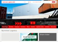 Nettisivu: Nurminen Cargo