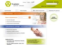 Nettisivu: Rauman seudun työ- ja elinkeinotoimisto