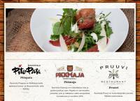 Nettisivu: Viiniravintola Pruuvi