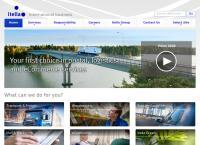 Nettisivu: Itella Logistiikka