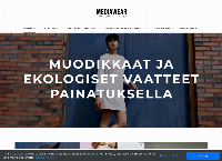 Nettisivu: Mediawear Custom Apparel