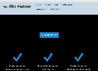 Nettisivu: Tmi Aki Halme